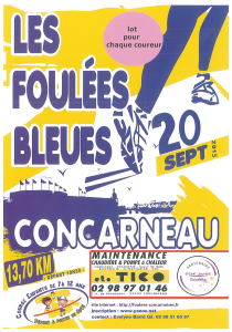 Flyer Foulees Bleues